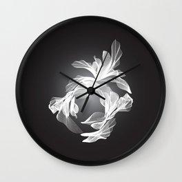 Petal Mesh I Wall Clock