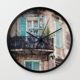 New Orleans - Close Your Eyes and Dream Wall Clock