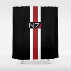 Mass Effect   Commander Shepard  Shower Curtain