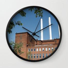 Copenhagen Chimneys Wall Clock