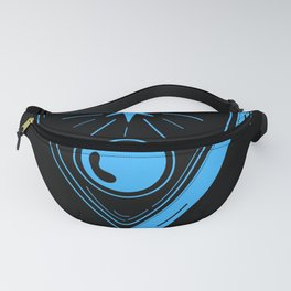 Ouija Planchette Warning Say Good Bye Never Forget Fanny Pack