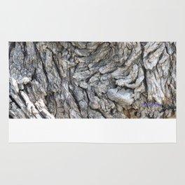 TEXTURES -- Blue Elderberry Bark Rug