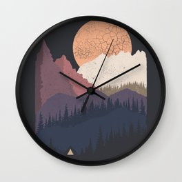 Be Wild Wall Clock