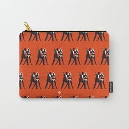 Orange Dr No Carry-All Pouch