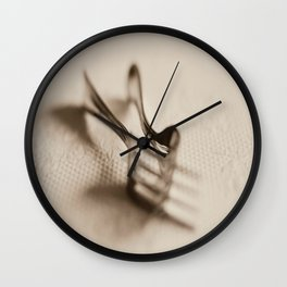 Entwined I Wall Clock