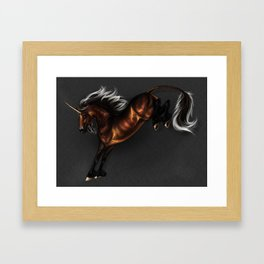 Unic corn Framed Art Print