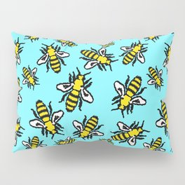 Honey Bee Swarm Pillow Sham