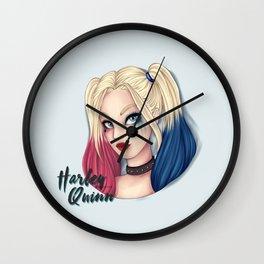 Suicide Blondie Wall Clock