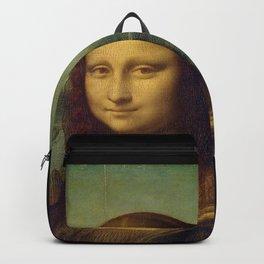 Leonardo da Vinci -Mona lisa - Backpack