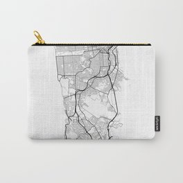 Minimal City Maps - Map Of San Francisco, California, United States Carry-All Pouch