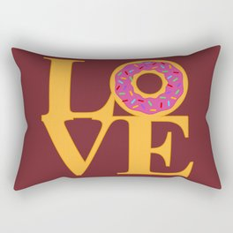 Love Donuts Rectangular Pillow