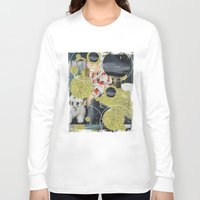 pony Long Sleeve T-shirts featuring PONY by WeLoveHumans
