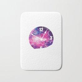 Time Runs Out Time Conscious Or Spiritual Person Gift Bath Mat