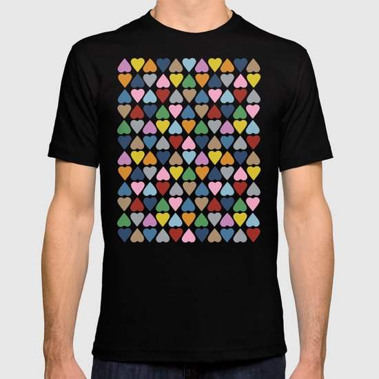 Diamond Hearts Repeat T-shirt