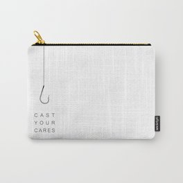 Cast Your Cares Carry-All Pouch