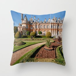Waddesdon Manor Throw Pillow