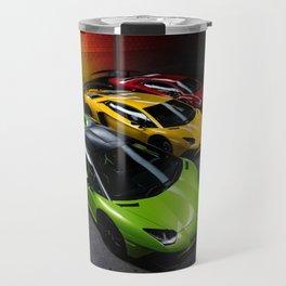 Supercar Traffic Lights Aventador SV Travel Mug