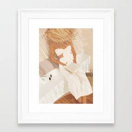 Summer Reading II Framed Art Print