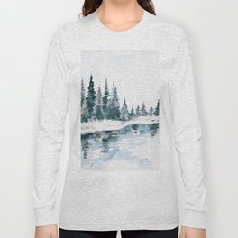 Mountain River Long Sleeve T-shirt