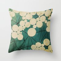 spring Throw Pillows featuring spring by Laura Graves