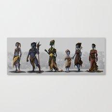 Alien Fantasy Race Canvas Print