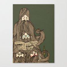 Grumpa Canvas Print