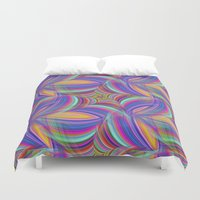psychedelic Duvet Covers featuring Psychedelic by David Zydd