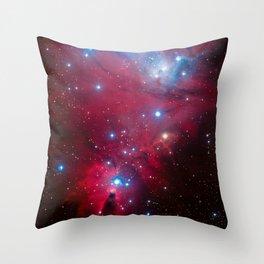 Christmas Tree Cluster Throw Pillow