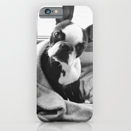 Good morning, human. iPhone Case