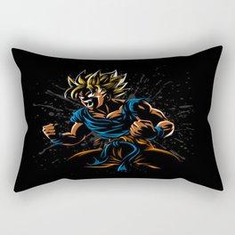 power goku Rectangular Pillow