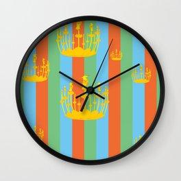 hoopoe Wall Clock