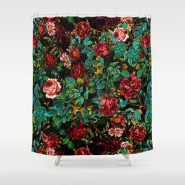 Rose Night Garden Shower Curtain