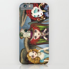 Tea Party iPhone Case