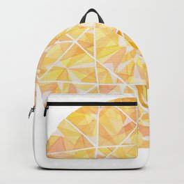 Yellow Round Gem Backpack