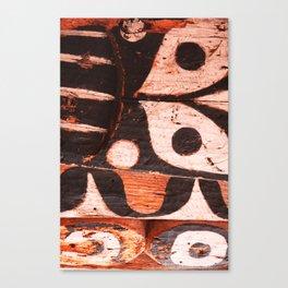 Totem Detail 1 Canvas Print