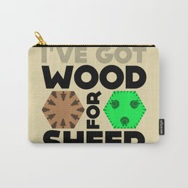 Wood for Sheep (Catan series) Carry-All Pouch