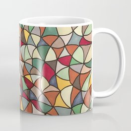 Earth Triangles Coffee Mug