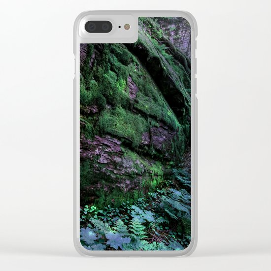 Enchanted Forest Wall (Where the Fairies Dwell) Clear iPhone Case