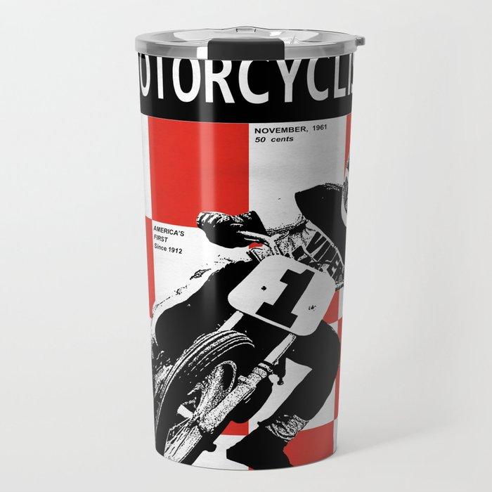 Motorcycle Magazine Number One 1961 Travel Mug