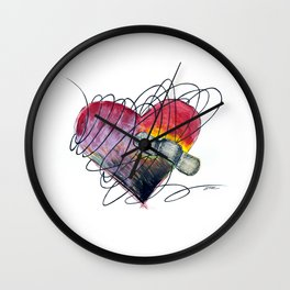 Art Ache Wall Clock