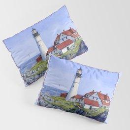 Portland Head Lighthouse Pillow Sham