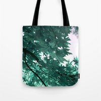 turquoise Tote Bags featuring turquoise by Françoise Reina