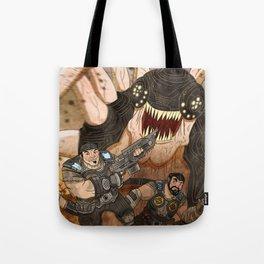 RUN GEARS RUN Tote Bag