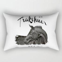 """Laptop/Ipad skin """"Trakehner - what else?"""" Rectangular Pillow"""