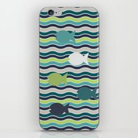 under the sea iPhone & iPod Skins featuring Under The Sea by LLL Creations