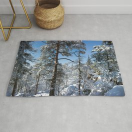 Winter in March Rug