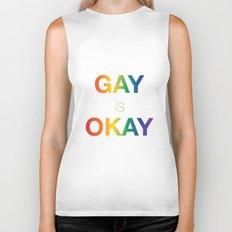 Gay is Okay Biker Tank