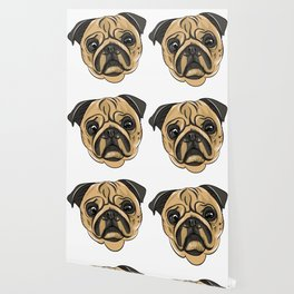 Pug Mans Best Friend Wallpaper