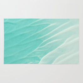 Turquoise sand pattern 02 Rug