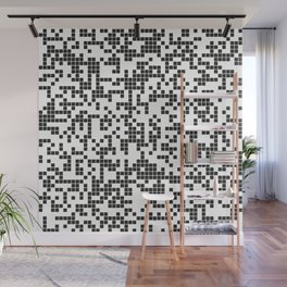 Abstract Pixel Wall Mural